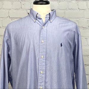 Ralph Lauren Yarmouth pin long sleeve dress shirt